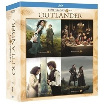 Pack Outlander - Temporada 1-4 - Blu-Ray