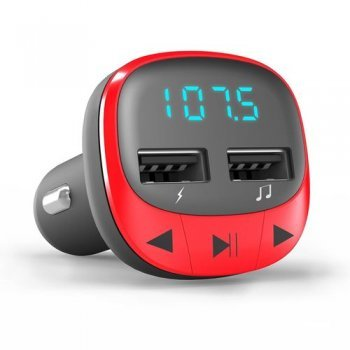 Energy Sistem Car Transmitter FM Red