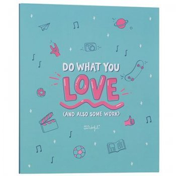 Mr Wonderful Carpeta archivadora ? Do what you love (and also some work)