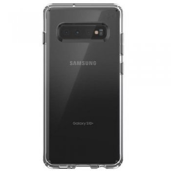 Funda Speck Presidio Stay Clear Transparente para Samsung Galaxy S10+
