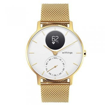 Pulsómetro Withings Steel HR 36 mm Oro