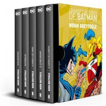 Estuche Grandes autores de Batman - Norm Breyfogle