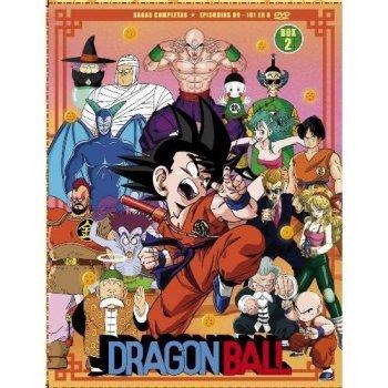 Box Dragon Ball Sagas 2 - Ep 69-108 - DVD