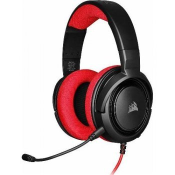 Auriculares gaming Corsair HS35 rojo - Nintendo Switch