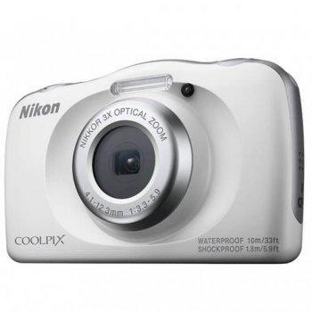 Cámara compacta Nikon Coolpix W150 + Mochila Blanco Kit