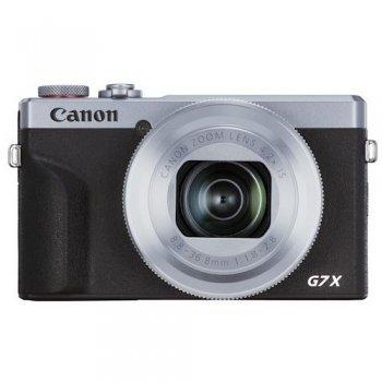 Cámara compacta Canon PowerShot G7 X Mark III Plata