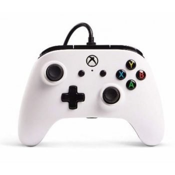 Mando con cable Power A Core blanco - Xbox One