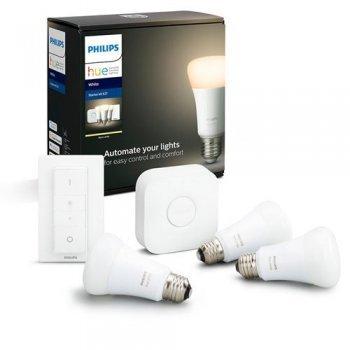 Kit de inicio iluminación inteligente Philips Hue E27