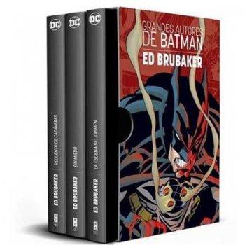 Estuche Grandes autores de Batman -  Ed Brubaker - Ed limitada