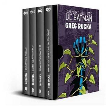 Estuche Grandes autores de Batman - Greg Rucka - Ed limitada
