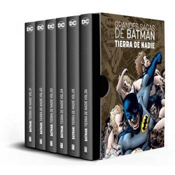 Estuche Grandes sagas de Batman - Batman-Tierra de Nadie vol. 1 a 6 - Ed limitada