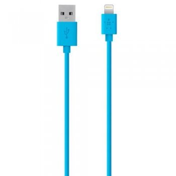 Cable Belkin Mixit Lightning a USB Azul 1,2m