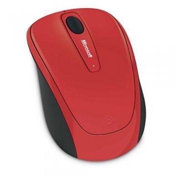 Ratón inalámbrico Microsoft 3500 Rojo