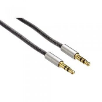Cable Hama 080869 AluLine Jack 3,5 mm 2m