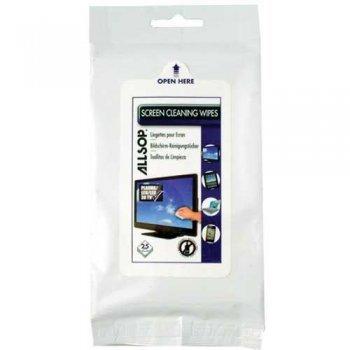 Allsop Limpieza Viaje Tablet 25 Paños