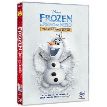 Frozen: El Reino del hielo (Ed. Sing Along) - DVD