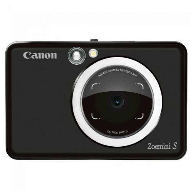 Cámara instantánea Canon Zoemini S Negro + 30 hojas