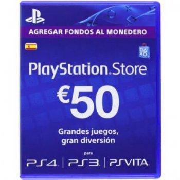 Tarjeta Prepago Playstation Network 50 Euros