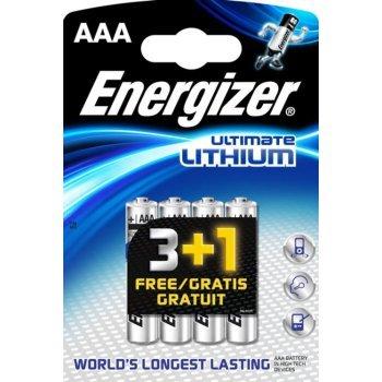 Energizer Blister 3+1 AAA Pilas de Litio