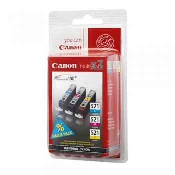 Canon 521 Pack color