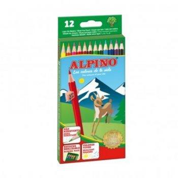 12 lápices de colores Alpino
