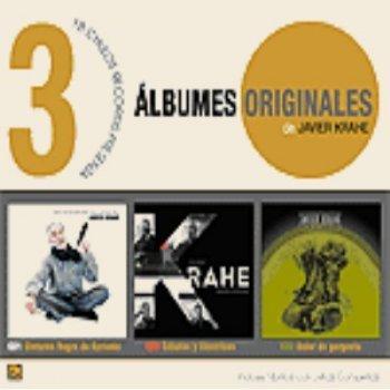 3 Álbumes originales de Javier Krahe