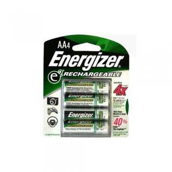 Pilas recargables AA Energizer Accu Recharge Extreme - 4 unidades
