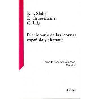 Diccionario de las lenguas española y alemana Tomo 1