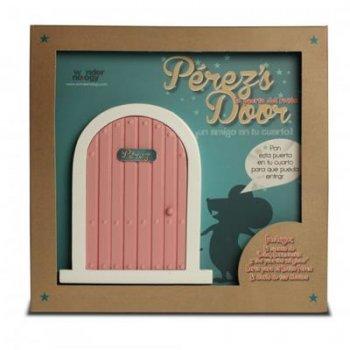 La puerta del ratoncito Pérez (Perez's door Rosa) y el cuento León, Carmencita y las puertas mágicas