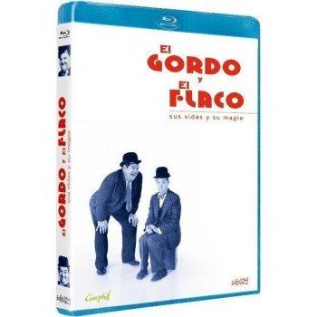 El Gordo y el Flaco: Sus vidas y su magia [Formato Blu-ray]