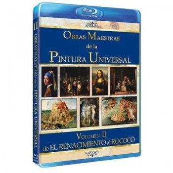 Obras maestras de la pintura universal 2:  Del Renacimiento al Rococó (Formato Blu-ray)