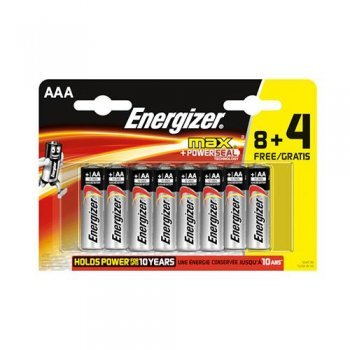 Energizer Pack 8+4A AA MAX