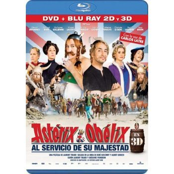 Astérix y Obélix: Al servicio de su majestad (Formato Blu-Ray 3D + 2D + DVD)